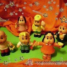 Figuras de Goma y PVC: LULU Y SUS AMIGOS, MUÑECOS DE GOMA, MUY BUSCADOS (AÑO 1976). Lote 135718314