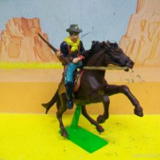 Figuras de Borracha e PVC: YANKEE BRITAINS YANQUI BATALLA LITLE BIG HORN CUSTER LAND SEPTIMO CABALLERIA NO PECH REAMSA JECSAN. Lote 57190388