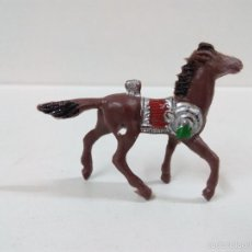 Figuras de Goma y PVC: CABALLO INDIO . MINI OESTE . COMANSI. Lote 57286219