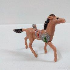 Figuras de Goma y PVC: CABALLO INDIO . MINI OESTE . COMANSI. Lote 57286288