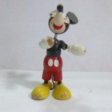 Figuras de Goma y PVC: MICKEY MOUSE MUÑECO DE MADERA FABRICADO EN ESPAÑA AÑOS 60 VILA LICENCIA WALT DISNEY. Lote 57313685