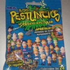 Figuras de Goma y PVC: SOBRE MUÑECO LOS PESTUNCIOS INCLUYE COMIC DE REGALO. SIN ABRIR. Lote 169577104
