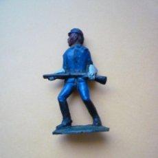 Figuras de Goma y PVC: SOLDADO DE LA UNION YANKEE GOMA AÑOS 60. Lote 57352283