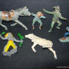 Figuras de Goma y PVC: LOTE FIGURAS GOMA, CON ROTURAS. Lote 57357654