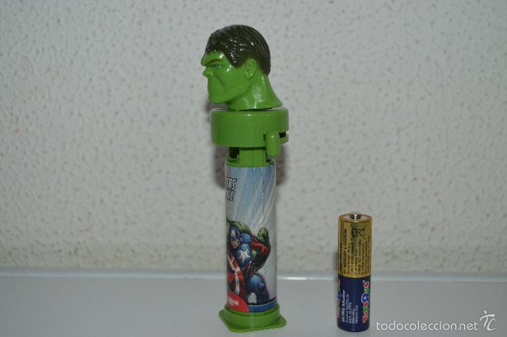 Dispensador Pez: dispensadores de caramelos pez dispensador caramelo hulk marvel - Foto 3 - 57358391