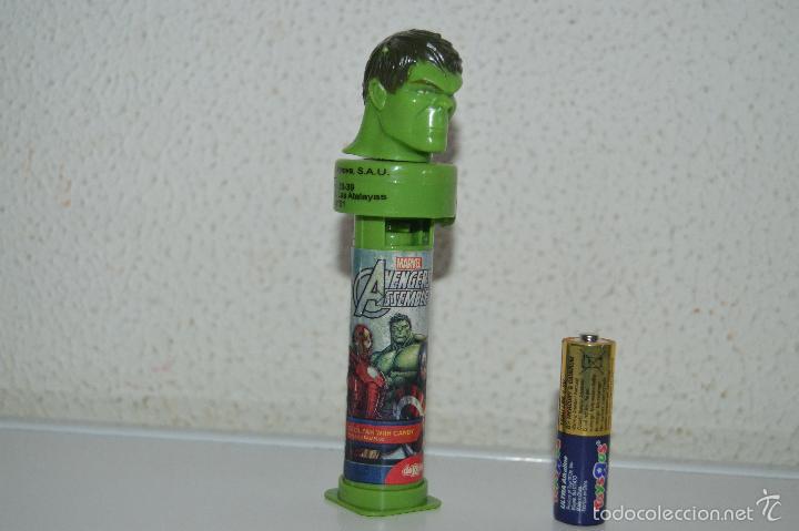 Dispensador Pez: dispensadores de caramelos pez dispensador caramelo hulk marvel - Foto 5 - 57358391