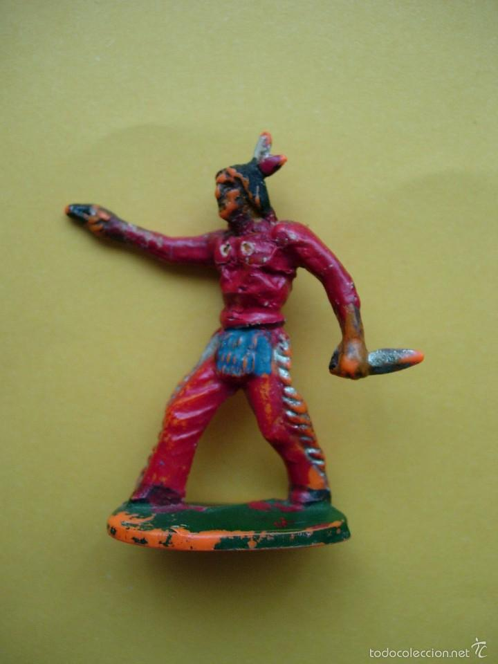 INDIO CON PISTOLA 54MM (Juguetes - Figuras de Goma y Pvc - Comansi y Novolinea)