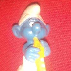 Figuras de Goma y PVC: PITUFO SMURF PVC. Lote 57366475