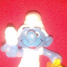 Figuras de Goma y PVC: PITUFO SMURF PVC. Lote 57366639