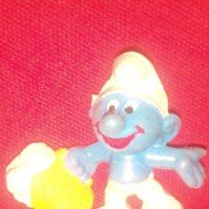 Figuras de Goma y PVC: PITUFO SMURF PVC. Lote 57366778