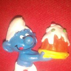 Figuras de Goma y PVC: PITUFO SMURF PVC. Lote 71733019