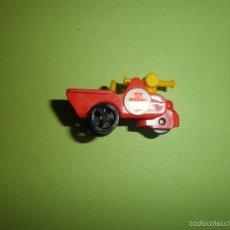 Figuras Kinder: MUÑECO FIGURA HUEVO KINDER MOTO CAR. Lote 57371037