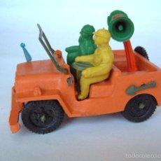 Figuras de Goma y PVC: SOTORRES,AUTO JEEP CARRERA CICLISTA.REF.2820. Lote 57389244