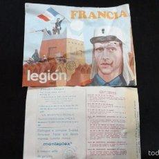 Figuras de Goma y PVC: MONTAPLEX 109 FRANCIA LEGION. Lote 112536267