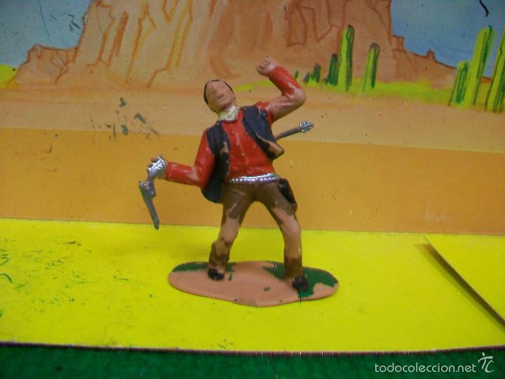 FIGURA VAQUERO REAMSA - VAQUERO DE REAMSA (Juguetes - Figuras de Goma y Pvc - Reamsa y Gomarsa)