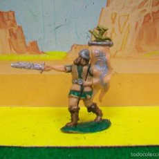 Figuras de Goma y PVC: FIGURA VIKINGO PLASTICO AÑOS 60 - LA FABRICA COMANSI. Lote 57517791