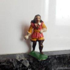 Figuras de Goma y PVC: MEDIEVAL MOSQUETERO CREO STARLUX PLASTICO DURO O BAQUELITA CREO STARLUX . Lote 57524307