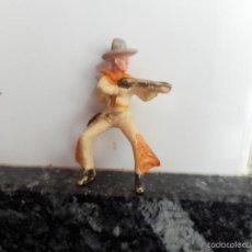 Figuras de Goma y PVC: VAQUERO STARLUX . Lote 57524374