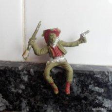 Figuras de Goma y PVC: VAQUERO PVC CREO MARCA LAFREDO. Lote 195671627
