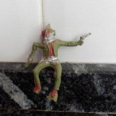 Figuras de Goma y PVC: VAQUERO PVC CREO MARCA LAFREDO. Lote 195671602
