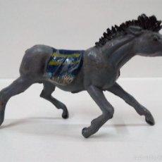 Figuras de Goma y PVC: CABALLO PARA INDIO . PECH . GOMA. Lote 57531413