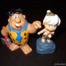 Figuras de Goma y PVC: PEDRO PICAPIEDRA Y BAMBAM. Lote 57560085