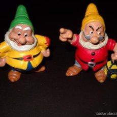 Figuras de Goma y PVC: ENANITOS. Lote 57560228