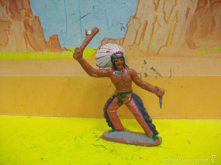 FIGURA INDIO SOTORRES - INDIO DE MARIANO SOTORRES (Juguetes - Figuras de Goma y Pvc - Sotorres)