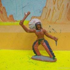 Figuras de Goma y PVC: FIGURA INDIO SOTORRES - INDIO DE MARIANO SOTORRES. Lote 57563027
