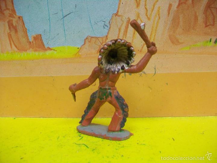 Figuras de Goma y PVC: FIGURA INDIO SOTORRES - INDIO DE MARIANO SOTORRES - Foto 2 - 57563027