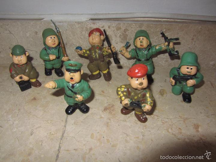 Figuras de Goma y PVC: Lote Muñecos de Goma Hitler y Soldados Nazis - Muy Raro - Difícil de Conseguir - Ver Fotos - Foto 6 - 39855741