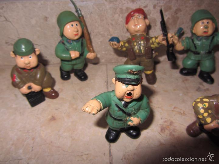 Figuras de Goma y PVC: Lote Muñecos de Goma Hitler y Soldados Nazis - Muy Raro - Difícil de Conseguir - Ver Fotos - Foto 7 - 39855741