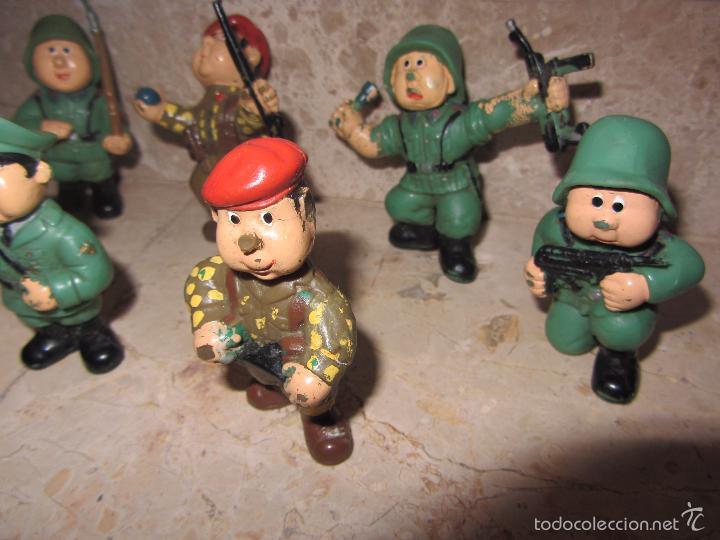 Figuras de Goma y PVC: Lote Muñecos de Goma Hitler y Soldados Nazis - Muy Raro - Difícil de Conseguir - Ver Fotos - Foto 8 - 39855741