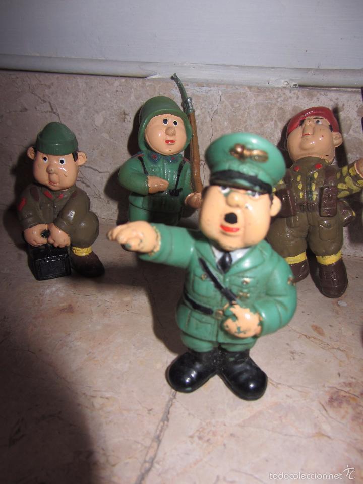 Figuras de Goma y PVC: Lote Muñecos de Goma Hitler y Soldados Nazis - Muy Raro - Difícil de Conseguir - Ver Fotos - Foto 9 - 39855741
