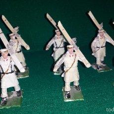Gummi- und PVC-Figuren - ESQUIADORES DE DESFILE DE GOMARSA O REAMSA , SOLDIS 6 UNIDADES - 57617605