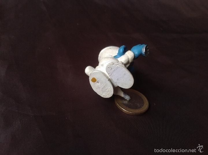 Figuras de Goma y PVC: Figura pvc smurf pitufo Doctor w. Germany schleich 3 peyo 1978 - Foto 5 - 57661284
