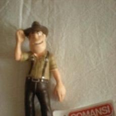 Figuras de Goma y PVC: TADEO JONES ( PVC ) COMANSI. Lote 153357438