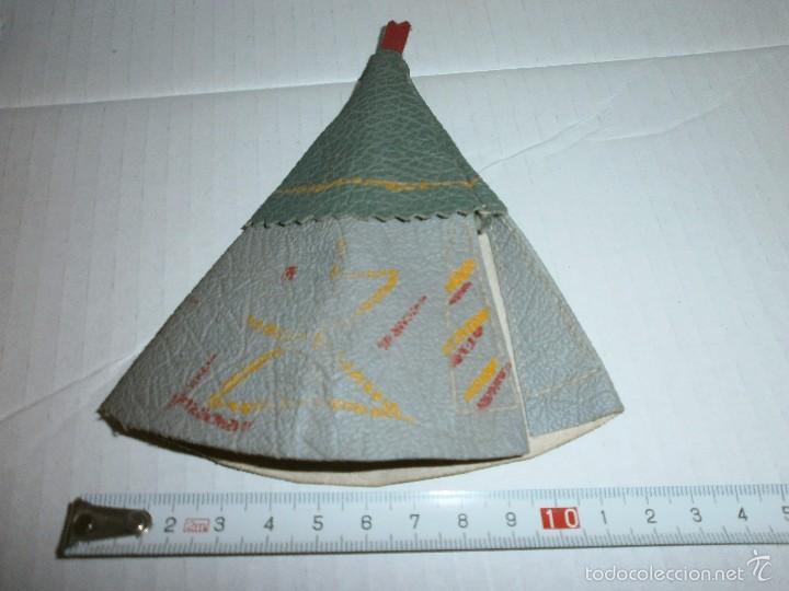 Figuras de Goma y PVC: tipi indio antiguo - Foto 2 - 57768474