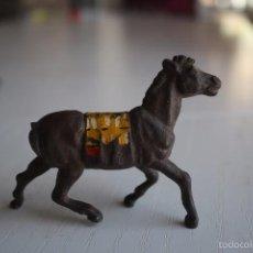 Figuras de Goma y PVC: CABALLO DE GOMA JECSAN ?. Lote 57796386