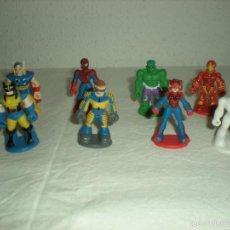 Figuras de Goma y PVC: LOTE 8 MINI - FIGURAS PVC SPIDER-MAN & FRIENDS (MARVEL). Lote 57807177