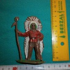 Figuras de Goma y PVC: FIGURA ANTIGUA DE PLASTICO OESTE. Lote 57831916