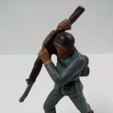 Figuras de Goma y PVC: SOLDADO ALEMAN . PECH . AÑOS 60. Lote 57837057