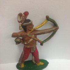 Figuras de Goma y PVC: ANTIGUA FIGURA FABRICADA INDIO EN GOMA POR TEIXIDO MIDE 6 CMTS. Lote 57847077
