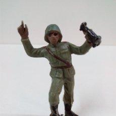 Figuras de Goma y PVC: SOLDADO ALEMAN . PECH . AÑOS 60. Lote 57850515