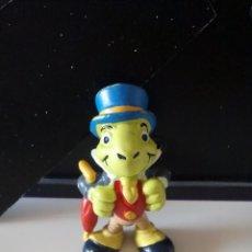Figuras de Goma y PVC: ANTIGUA FIGURA PVC DE PEPITO GRILLO. DE DISNEY - BULLY.. Lote 57865519