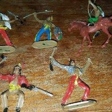 Figuras de Goma y PVC: LOTE INDIOS COMANSI. Lote 57872009