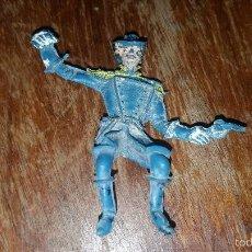 Figuras de Goma y PVC: SOLDADO 7 CABALLERÍA YANKIE COMANSI SEGUNDA ÉPOCA. Lote 57875320