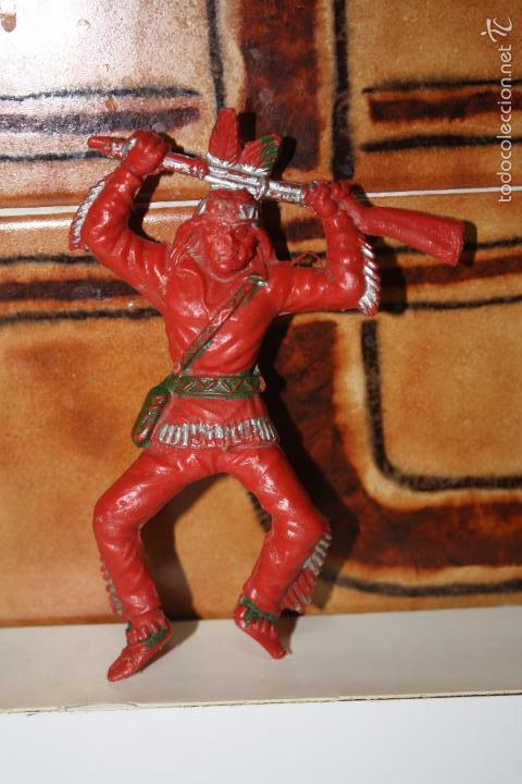 INDIO MARCA LAFREDO (Juguetes - Figuras de Goma y Pvc - Lafredo)