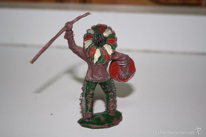 Figuras de Goma y PVC: INDIO DE PLASTICO marca lafredo - Foto 2 - 57876961