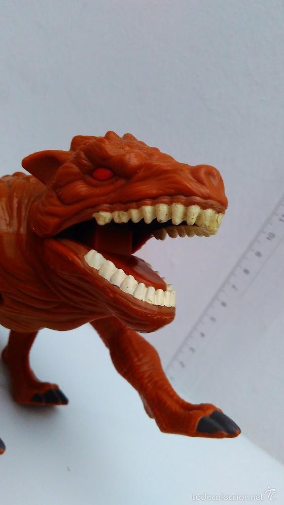 Figuras de Goma y PVC: monstruo dragon dinosaurio bestia GRAEGUS ares hercules 1996 toy biz - Foto 2 - 57907664